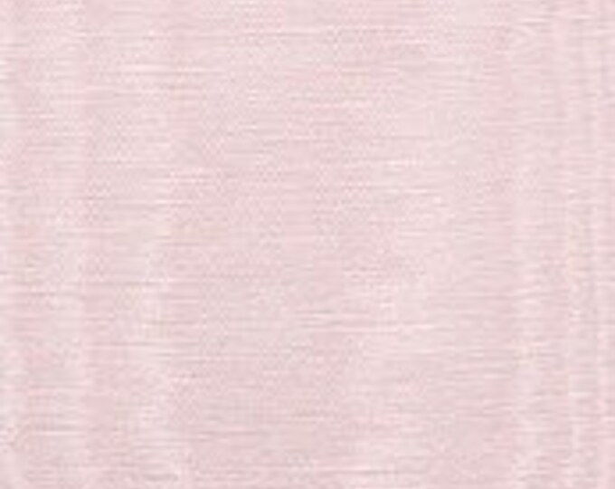 Baby Pink Moire Fabric Cotton Blend Upholstery Drapery Lining Apparel Fiber Art Crafting