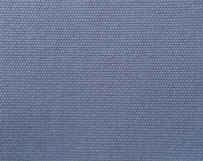 Slate Blue Gray Brushed Canvas Fabric Cotton Duck Home Decor Bags Crafts SOFT