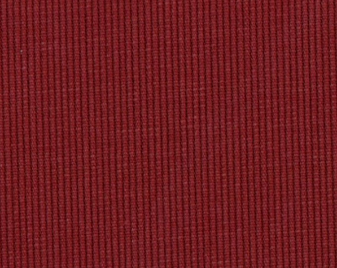 BEDFORD CORD Sanded Corded Cotton Henna Red MARSALA Upholstery Apparel Fabric Corduroy