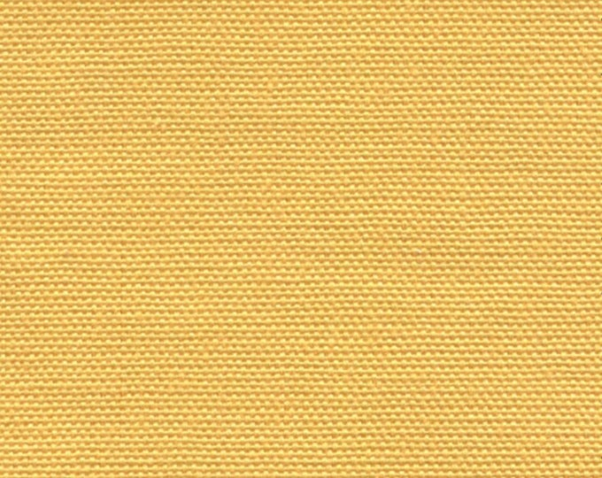 Yellow Canvas Fabric Duck Cotton  Upholstery Apparel Slipcovers Multipurpose