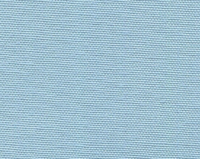 Light Blue Cotton Canvas Fabric Apparel Upholstery Slipcovers Crafts Pre Shrunk Duckcloth