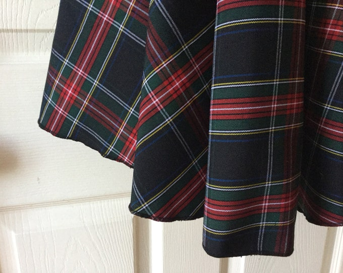 Large 58 Inch Plaid Tartan Holiday Tree Skirt You Choose Pattern