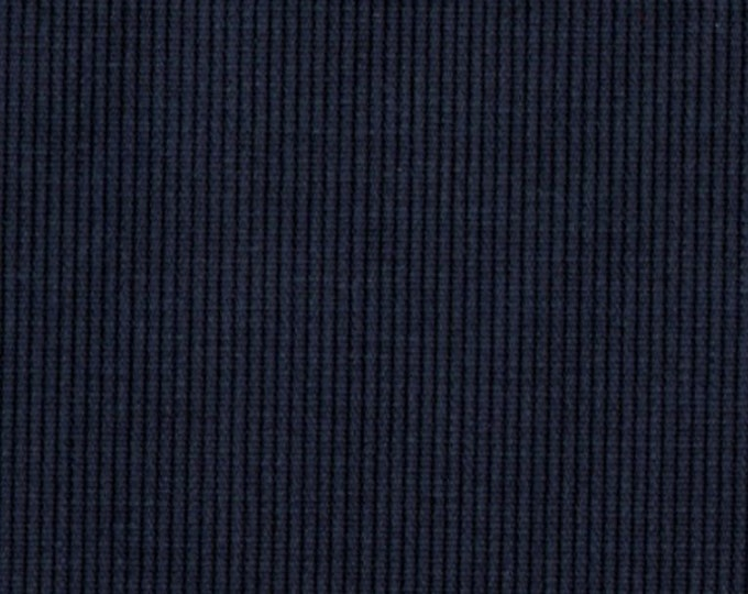 BEDFORD Cord Sanded Corded Cotton NAVY BLUE Upholstery Apparel Fabric Corduroy