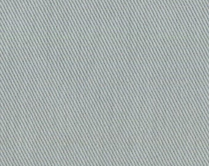 Gray Cotton Twill Fabric Soft Brushed Sanded Great for Upholstery Crafts Apparel
