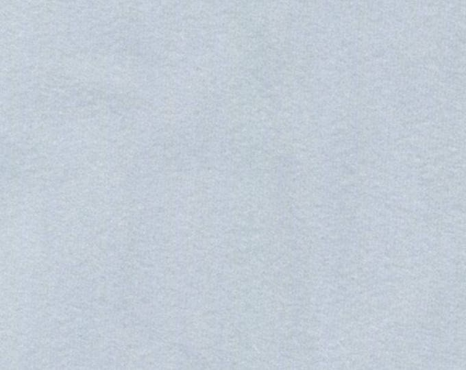 LIGHT BLUE GRAY Washable Velvet Fabric Multipurpose Drapery Apparel Home Decor