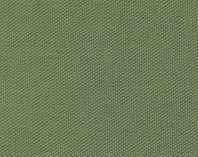 Fern Green Organic Cotton Canvas Fabric Duckcloth For Upholstery Slipcovers Heavy Drapery Apparel