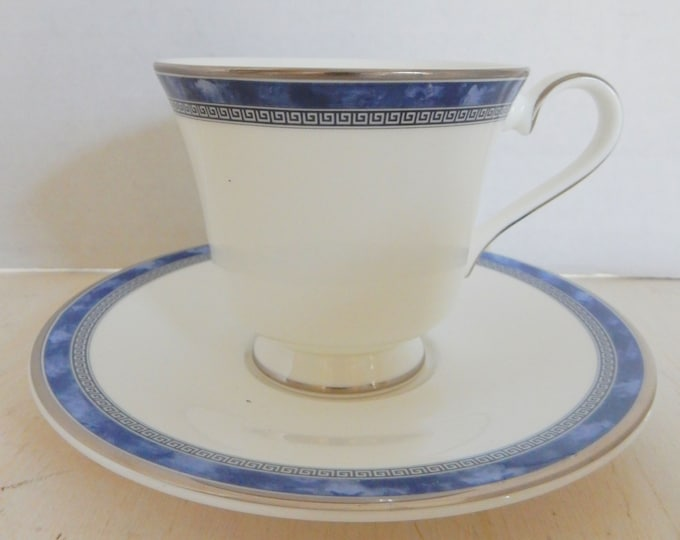 Royal Doulton Atlanta Fine Bone China Cup & Saucer NEW OLD STOCK Made in England