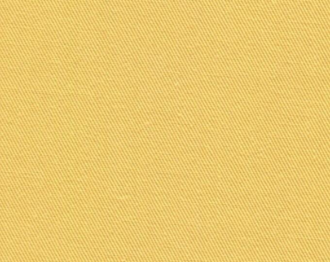 Recycled Water Bottle ORGANIC Cotton Blend Eco Twill Fabric LEMON Yellow MULTIPURPOSE