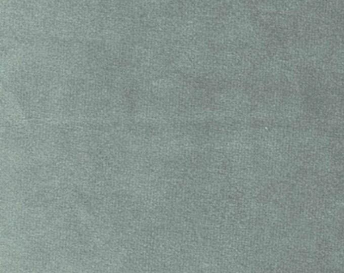 Super Soft SAGE GREEN Washable Velvet Fabric Multipurpose Drapery Apparel Home Decor