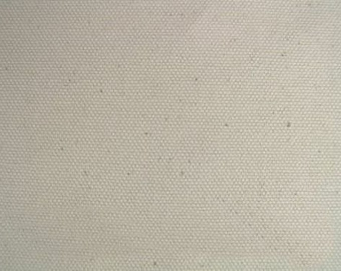 Organic Cotton Canvas Fabric Natural Duck For Upholstery Apparel Home Decor Slipcovers Crafts
