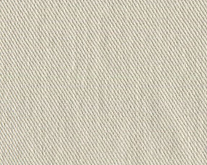Brushed Cotton Natural Twill Fabric For Upholstery Slipcovers Home Decor