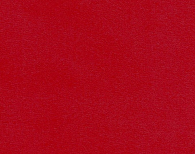 RED Velvet Fabric Washable Multipurpose Crafts Drapery Upholstery Apparel Christmas Holiday