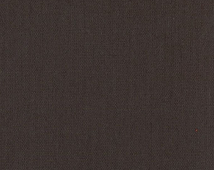Heavy Brown Waxed Oilcloth Cotton Canvas Fabric