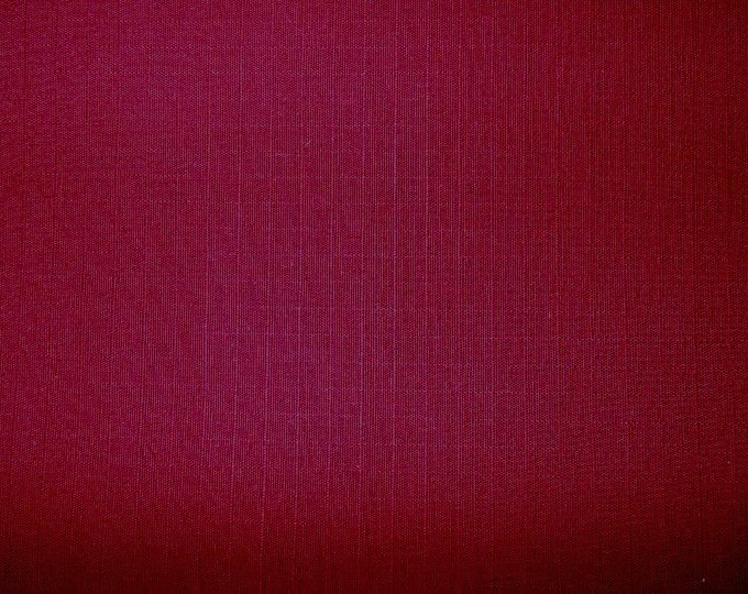 Cotton Ripstop Fabric 50 Yard Roll BURGUNDY Multipurpose RIP RESISTANT