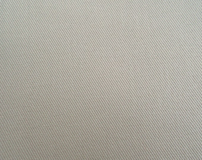 Brushed Chino Twill KHAKI Fabric 8.5 oz PERFECT For Apparel Home Decor Crafts