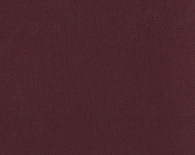 Burgundy Waxed Cotton Oilcloth Fabric Canvas Duck For Upholstery Apparel Bags Outdoor Gear Tents