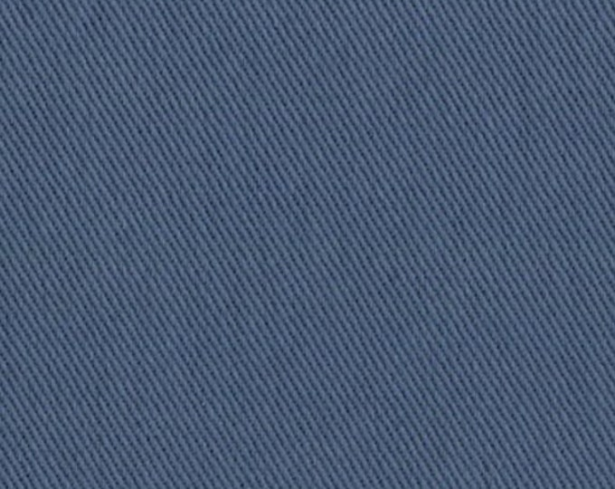 Slate Blue COTTON Fabric Brushed Twill Upholstery Slipcover Home Decor Slipcovers Clothing
