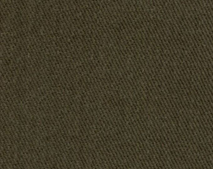Heavy SOFT Preshrunk Cotton DenimTwill Fabric Upholstery Slipcovers OLIVE