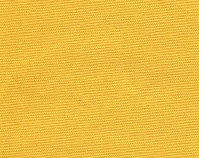 Yellow Cotton Canvas Duck Fabric Apparel Drapery Upholstery Slipcovers Crafts