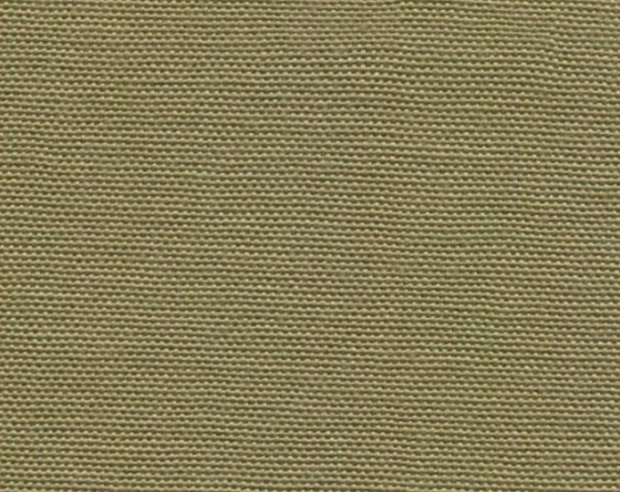 Khaki Cotton Canvas Duck Fabric Upholstery Slipcovers Crafts Apparel