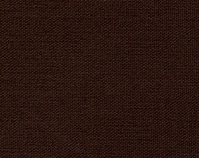 Brown Cotton Canvas Fabric Duckcloth Apparel Upholstery Slipcovers Crafts