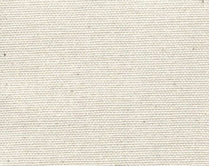 Natural Cotton Canvas Fabric Apparel Upholstery Slipcovers Crafts Multipurpose