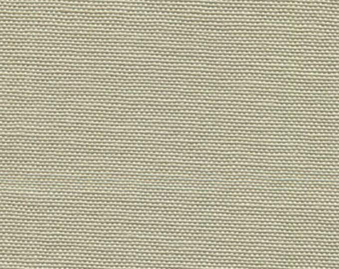 Cotton Canvas Fabric Neutral Stone Color Soft Yet Strong For Apparel Upholstery Slipcovers Crafts