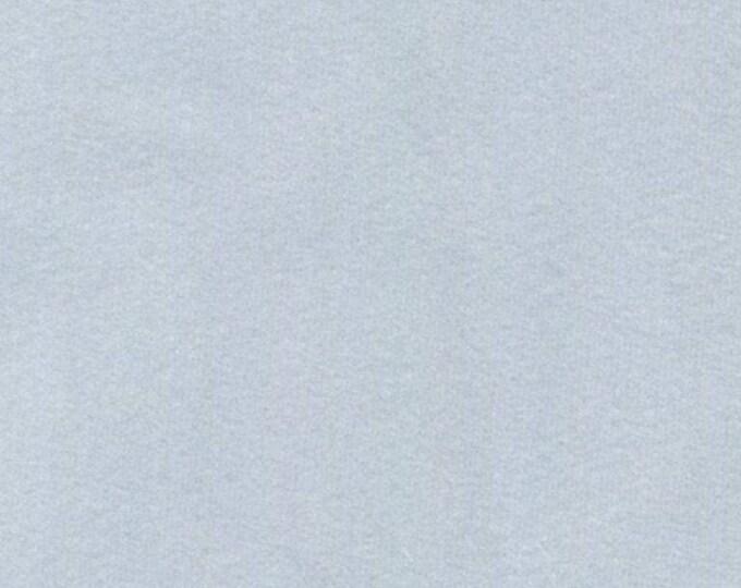 Soft LIGHT BLUE GRAY Washable Velvet Fabric Multipurpose Drapery Apparel Home Decor