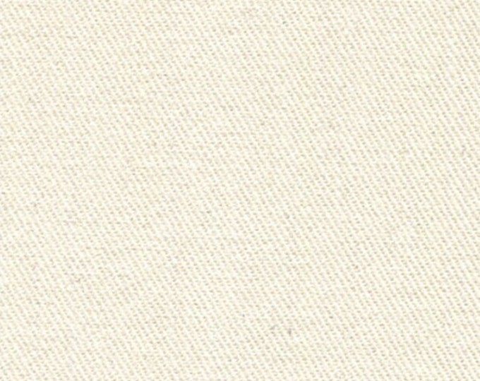 Cream Brushed Cotton Fabric Off White Upholstery Slipcovers Drapery Clothing Fiber