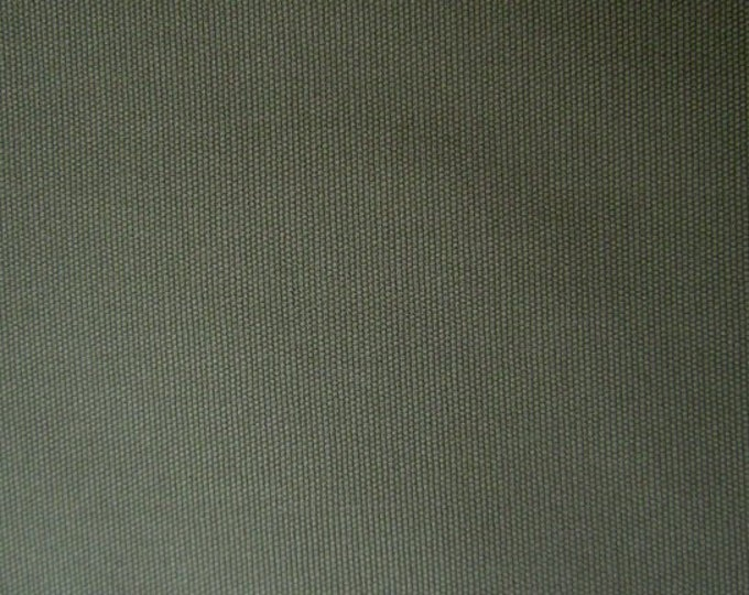 Brushed Cotton Canvas Fabric ARMY GREEN For Apparel Home Decor Crafts
