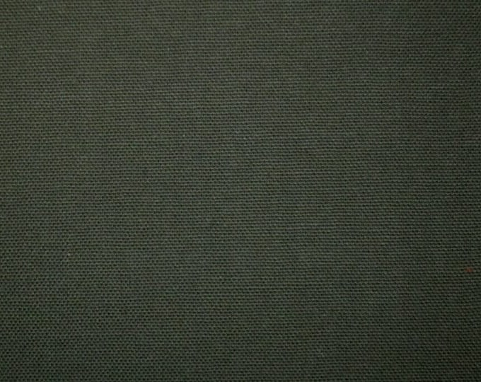 Army Green Cotton Canvas Fabric Duckcloth Upholstery Apparel Crafts Kid Pet Friendly