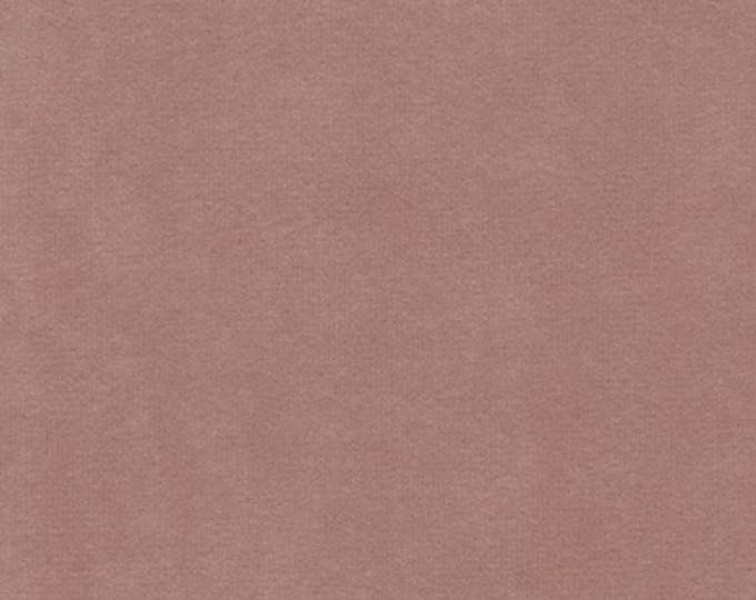 Velvet Fabric Blush Multipurpose Washable Drapery Upholstery Apparel Home Decor