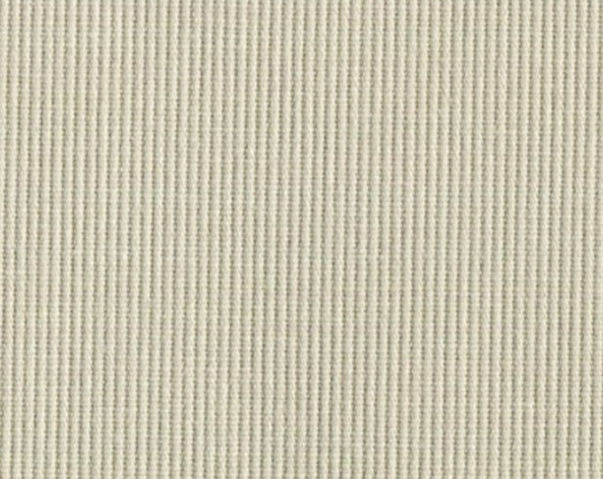 Bedford Cord Fabric Sanded Corded Cotton Stone Upholstery Drapery Apparel Fabric