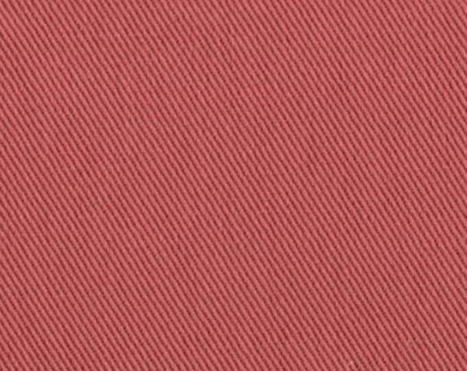 10 oz Brushed COTTON Twill Upholstery Slipcover Fabric NAUTICAL RED Home Decor Slipcovers Clothing