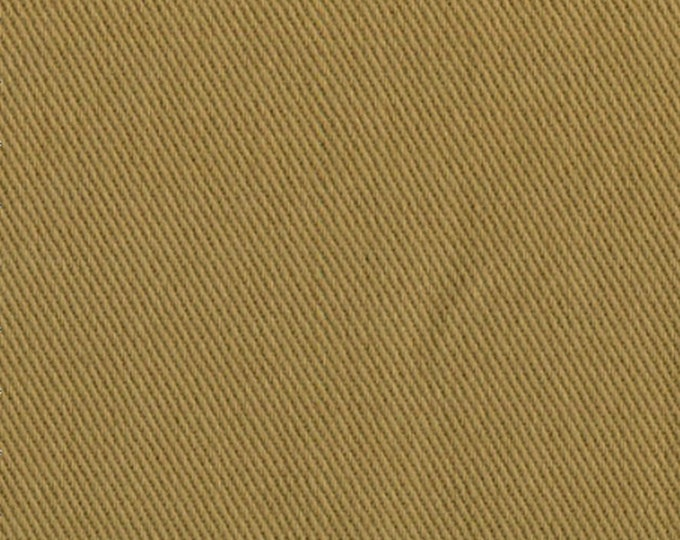 Cotton Twill Fabric Medium Weight Upholstery Slipcover Apparel Golden Brown Khaki Corn Tassel