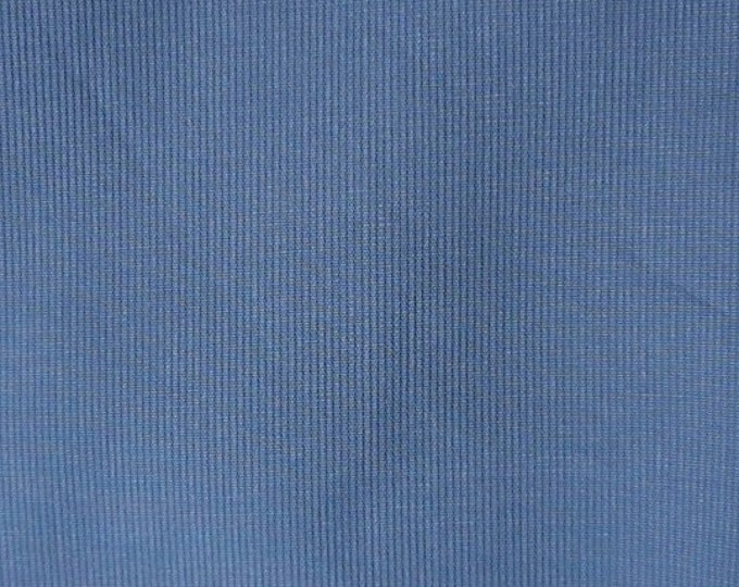 BEDFORD CORD Sanded Corded Cotton Medium Blue Fabric