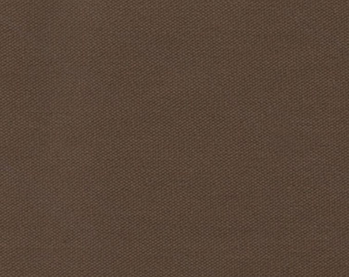 Preshrunk Cotton Canvas Duck Fabric DARK BROWN Apparel Upholstery Slipcovers Crafts