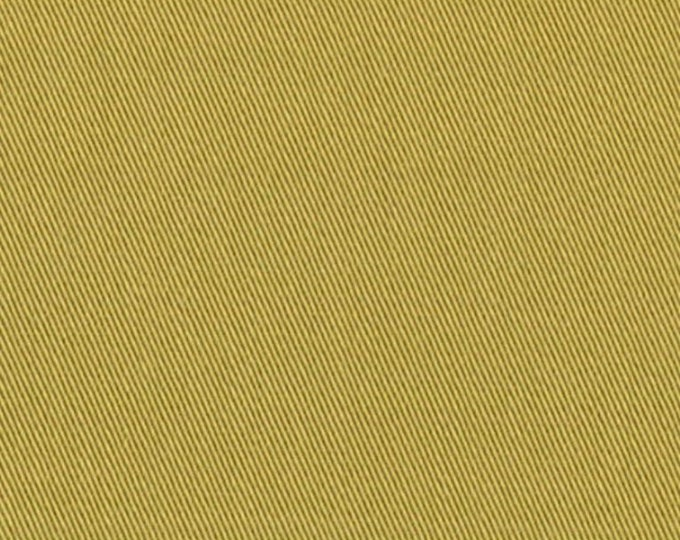 Organic Cotton Twill Fabric HONEY GOLD For Apparel Home Decor Crafting Easy Care