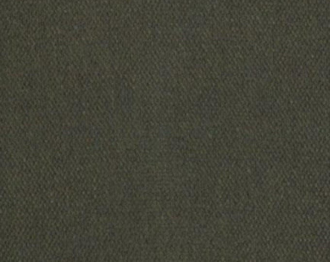 Waxed Canvas Fabric Olive Green Oilcloth Heavy Cotton Duck Fabric Apparel Bags Outdoor Gear Tents HALF YARD