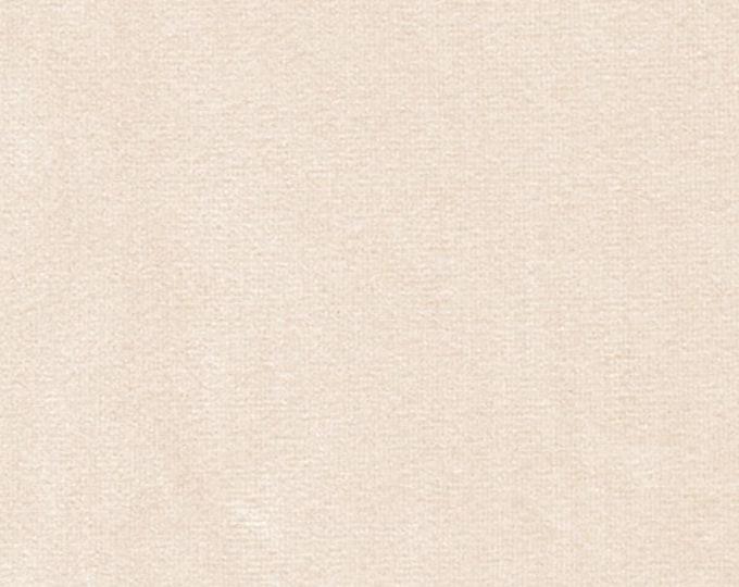 BUTTER TAN Washable Velvet Fabric Multipurpose UPHOLSTERY Apparel Home Decor