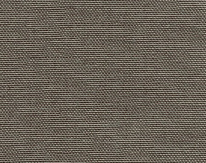 Cotton Canvas Duck Fabric TAUPE For Apparel Upholstery Slipcovers Crafts Nice Neutral Color