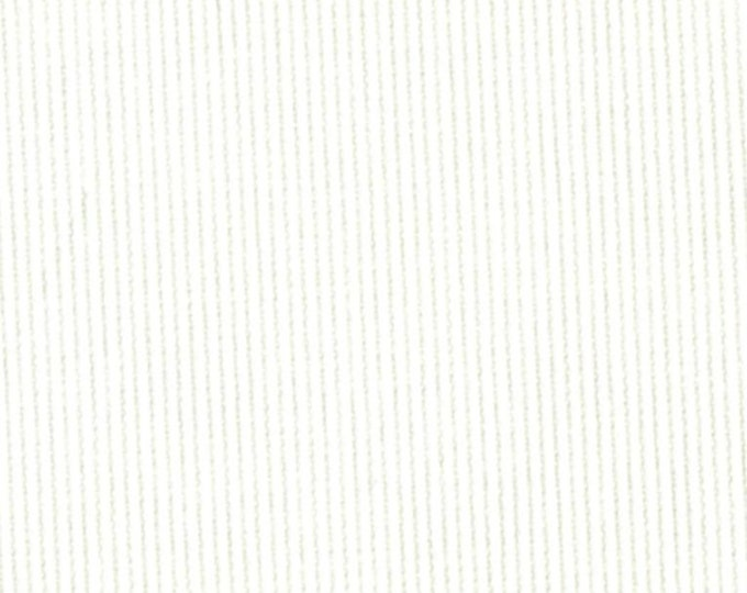Bedford Cord Fabric Cotton Winter White Upholstery Apparel Fabric Corduroy PFD