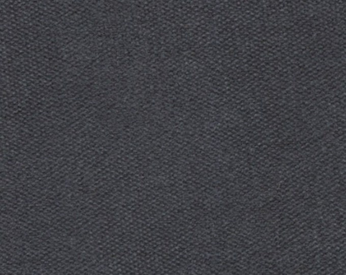Charcoal Gray Heavy Waxed Oilcloth Fabric Duckcloth For Apparel Bags Outdoor Gear Tents