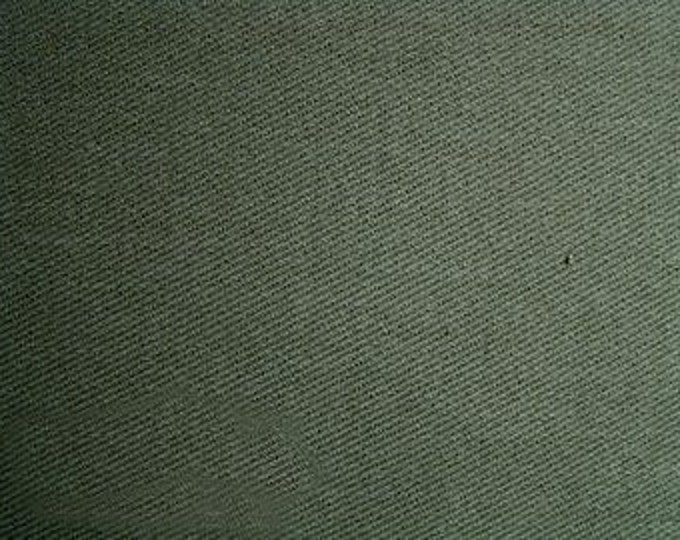 Brushed Cotton Twill Fabric For Slipcovers Upholstery Outerwear Jalapeno Green