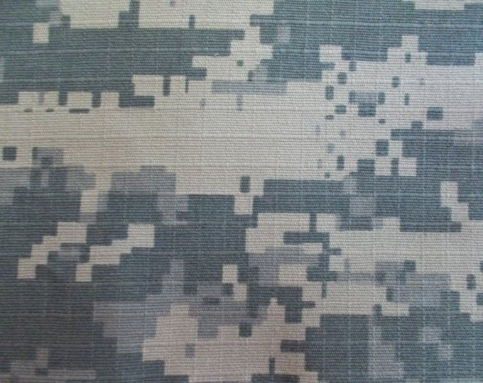Cotton Ripstop Camouflage Fabric 50 Yard Roll Army Green Beige Gray Camo Uniform Bags Clothing