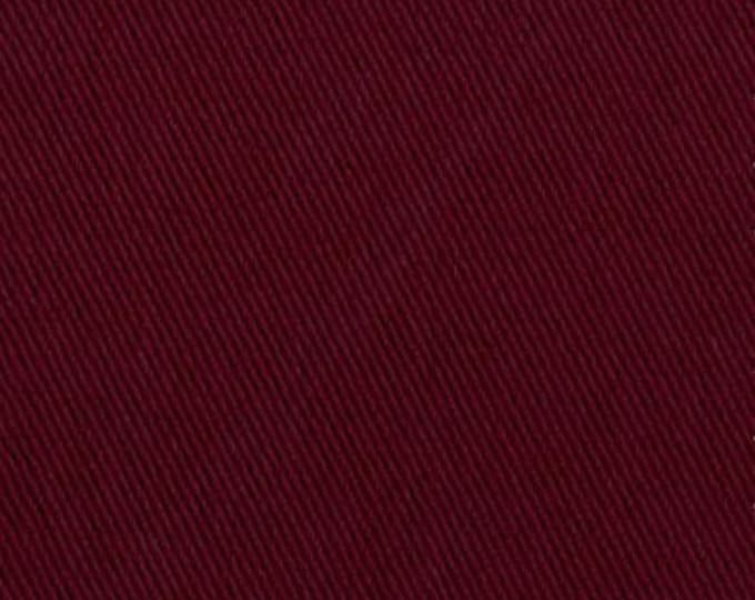 Burgundy Brushed Cotton Fabric Upholstery Slipcover Home Outerwear