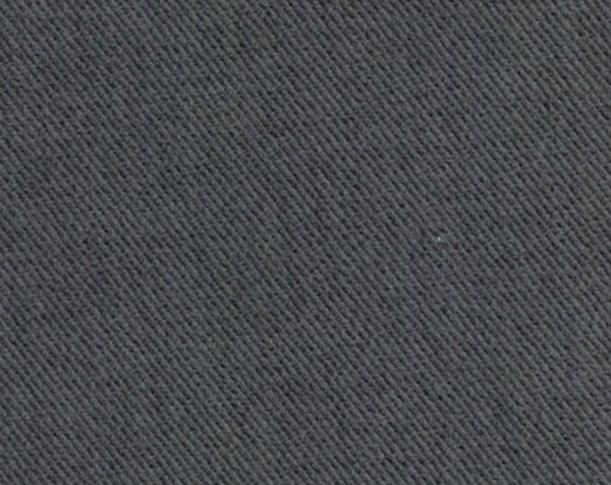 Gray Cotton Fabric Heavy Brushed Twill For Upholstery Slipcovers Outerwear