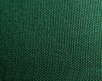 GREEN Cotton Canvas Fabric FOREST Duckcloth Apparel Upholstery Slipcovers Crafts