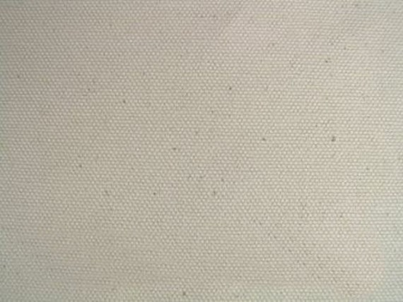 Organic Cotton Upholstery Fabric Natural Duck Canvas For Etsy