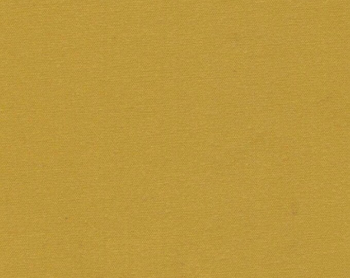 1 Yard MUSTARD Heavy Waxed Oilcloth Cotton Canvas Duck Fabric For Apparel Upholstery Bags Outdoor Gear Tents